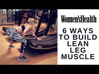 6 Ways to Build Lean Muscle on a Treadmill