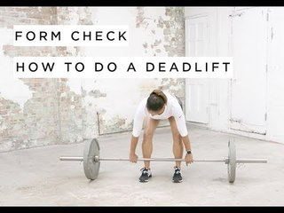 Form Check: How To Deadlift by Joslyn Thompson Rule