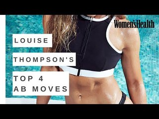 Louise Thompson On Her Top Abs Exercises