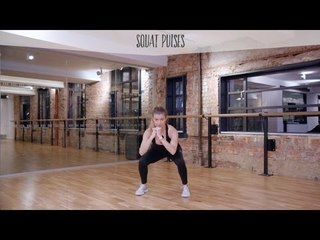 5 Minute Fit Body Plan Fitness Challenge: Week 1, Squats