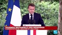 REPLAY - Discours d'Emmanuel Macron à l'occasion de la Journée nationale de l'abolition de l'esclavage