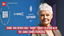 """Dame Judi Dench Almost Didn't Play """"M"""" In The James Bond Series"""