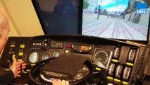 Entrez dans la cabine d'un conducteur de train SNCF