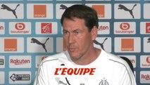 Garcia «Défendre les couleurs de notre club» - Foot - L1 - OM