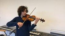 Bartu, un jeune prodige de 15 ans donnera un concert au violon et à la baguette