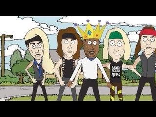 """Steel Panther - """"Just Like Tiger Woods"""" (Unofficial Animated Video)"""