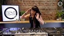 Fatima Hajji live from #DJMagHQ