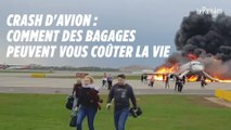 Crash d'avion : votre bagage à main peut vous coûter la vie