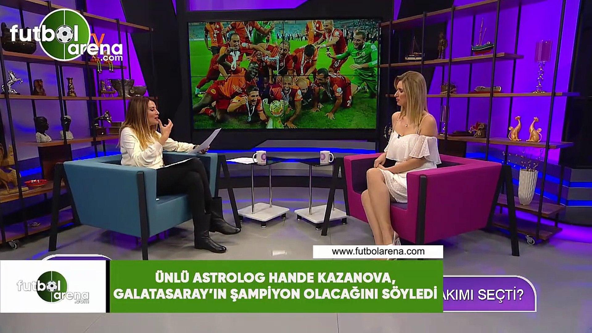 Ünlü astrolog Hande Kazanova, Galatasaray'ın şampiyon olacağını söyledi