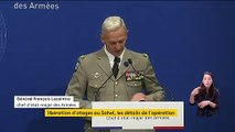 """""""C'est très douloureux"""" : le chef d'état-major des armées très ému après la mort de deux militaires français au BurkinaFaso"""
