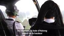 Au Vietnam, la baie d'Halong se visite depuis le ciel désormais