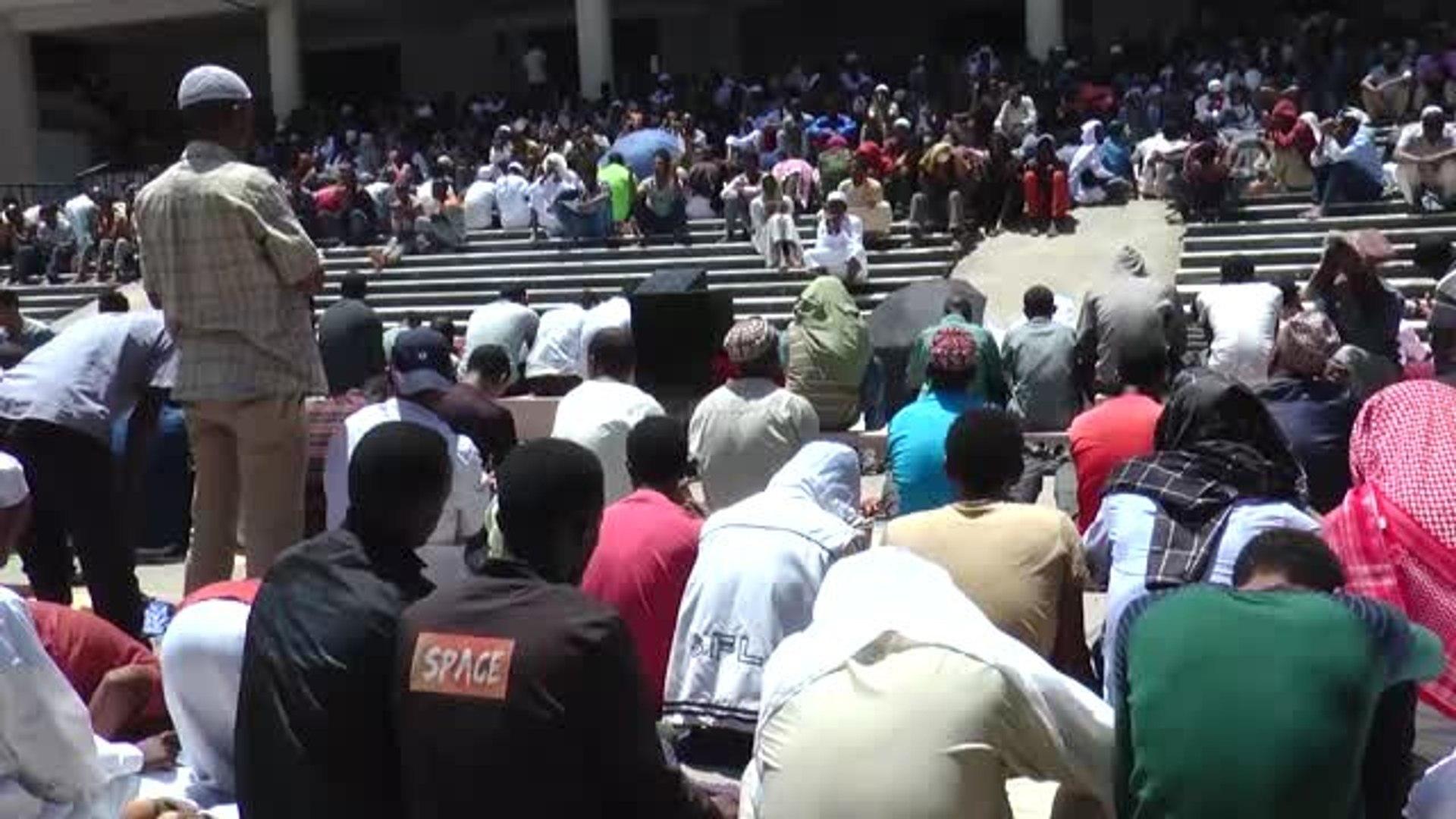 Etiyopya'da Ramazan Ayının İlk Cuma Namazı Kılındı - Addis Ababa