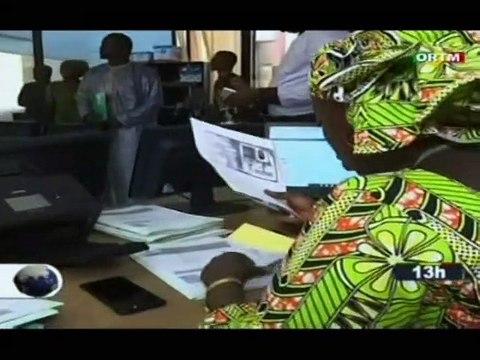 ORTM - Visite du ministre de la promotion et de l'investissement privé Safia Boly, à l'agence du Mali