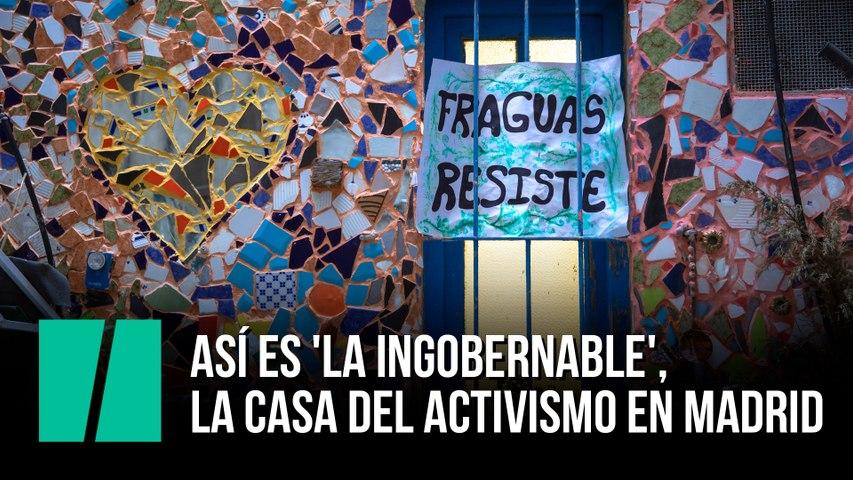 Así es 'La Ingobernable': la casa del activismo en Madrid
