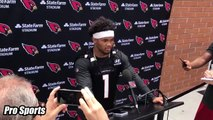 Kyler Murray Arizona Cardinals First Practice Interview, Speaks on If He Had Welcome To NFL Moment!