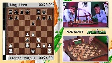 Grand Chess Tour- 2019 Cote dIvoire Rapid & Blitz - Rapid Rounds 7-9