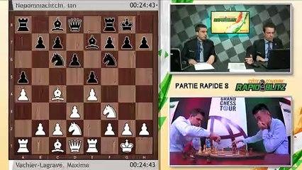 Grand Chess Tour- Rapide & Blitz de Cote dIvoire 2019 - Rapide, Rondes 7-9