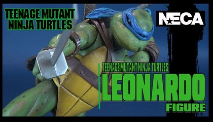 Teenage Mutant Ninja Turtles Leonardo | NECA Toys Figure Review (Gamestop Exclusive)