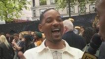 Will Smith Says Jada Pinkett Smith Loves His 'Aladdin' Ponytail (Exclusive)