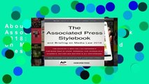 About For Books  The Associated Press Stylebook 2018: and Briefing on Media Law (Associated Press