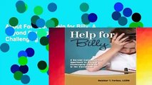 About For Books Help for Billy: A Beyond Consequences Approach to Helping Challenging Children in