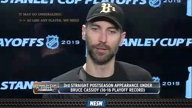 Bruins Players Praise Bruce Cassidy's Poise During Stanley Cup Playoffs