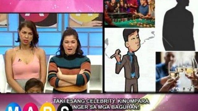 Mars: Taklesang celebrity, sinabihan ng 'laos na' ang isang singer! | Mars Mashadow