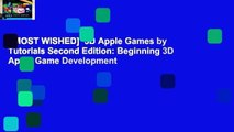 [MOST WISHED]  3D Apple Games by Tutorials Second Edition: Beginning 3D Apple Game Development