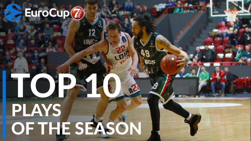 2018-19 7DAYS EuroCup: Top 10 Plays!