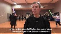 En France, les combats au sabre-laser séduisent