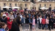 Une chorale géante place de la Libération à Dijon
