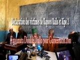 Déclaration des victimes de Kaporo Rails