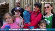 Cuges-les-Pins : les lecteurs de La Provence en balade à OK Corral