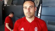 Iván Martínez, la entrevista al entrenador campeón de Copa de Campeones juvenil con el Zaragoza