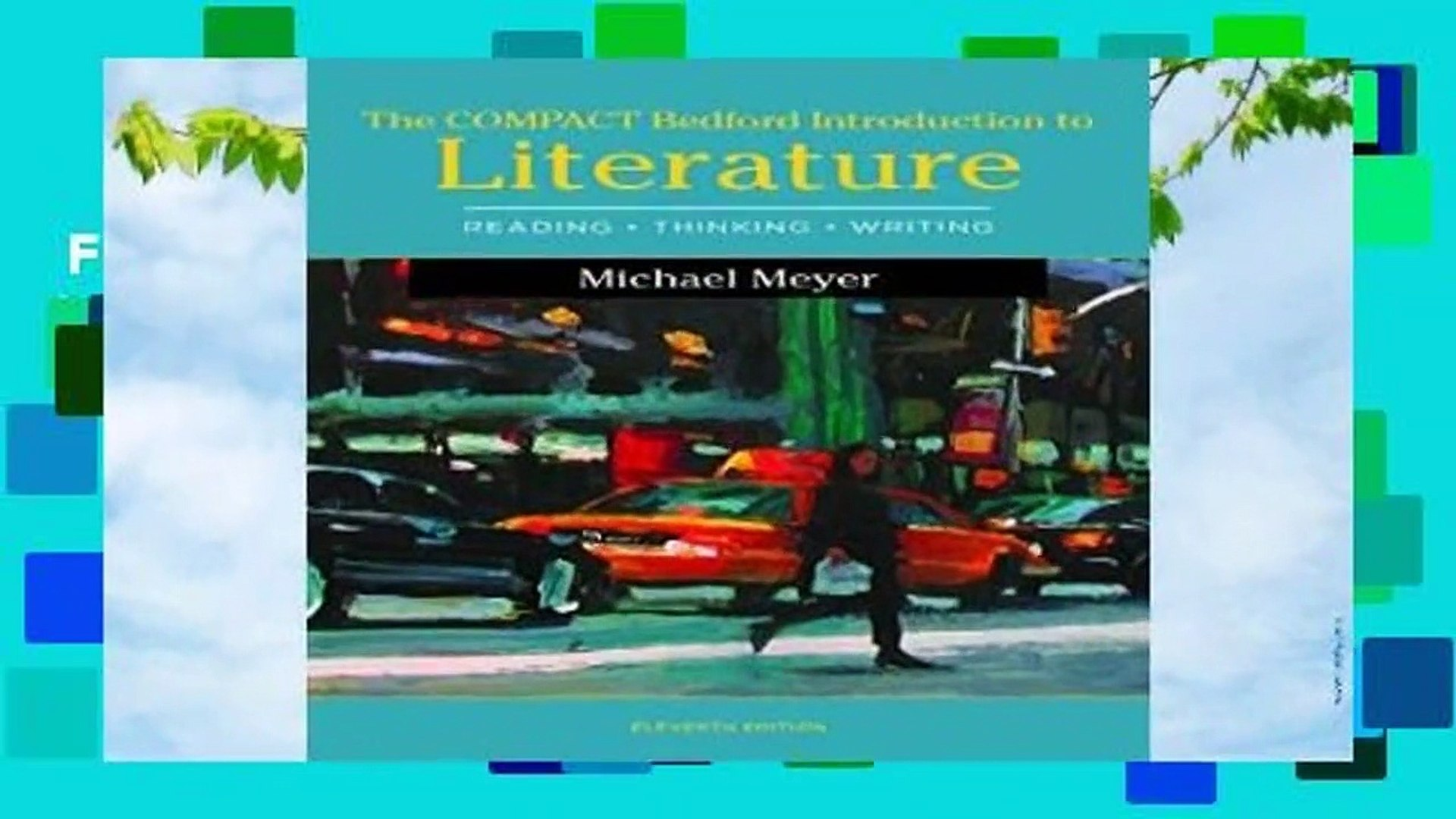 Full E-book  The Compact Bedford Introduction to Literature: Reading, Thinking, and Writing