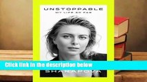 Trial New Releases  Unstoppable: My Life So Far by Maria Sharapova
