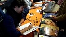 Marwan Kahil raconte De Vinci en BD