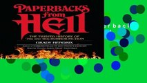 About For Books  Paperbacks from Hell: The Twisted History of  70s and  80s Horror Fiction  Best