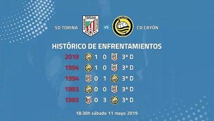SD Torina-CD Cayón Jornada 37 Tercera División 11-05-2019_18-30