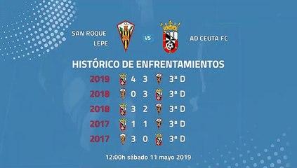 San Roque Lepe-AD Ceuta FC Jornada 41 Tercera División 11-05-2019_12-00
