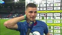 Réaction de Frédéric Guilbert après SMCaen / Stade de Reims
