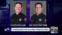 Valley gym holds fundraiser to help families of injured Peoria firefighers
