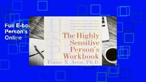 Full E-book The Highly Sensitive Person's Workbook  For Online