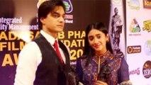 Shivangi Joshi and Mohsin Khan get this award for Yeh Rishta Kya Kehlata Hai; Watch video |FilmiBeat