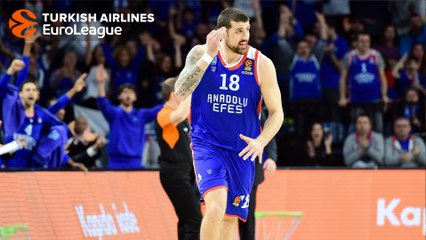 Final Four bound: Adrien Moerman, Anadolu Efes Istanbul