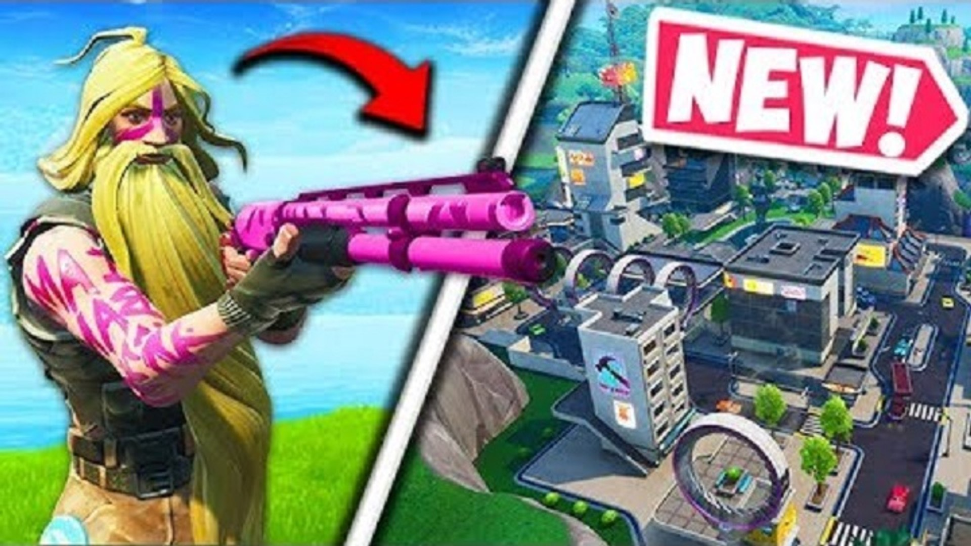 NEW COMBAT SHOTGUN & TILTED TOWERS! - Fortnite Funny Fails and WTF Moments!