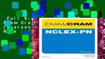 Full E-book  Nclex-PN Exam Cram (Exam Cram (Pearson))  Best Sellers Rank : #5