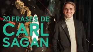 20 Frases de Carl Sagan    Divulgador de la astrofísica moderna