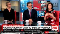 Panel Discuss Growing chorus of calls to break up Facebook. #Facebook #ReliableSources #SocialMedia #News @jess_mc @crampell