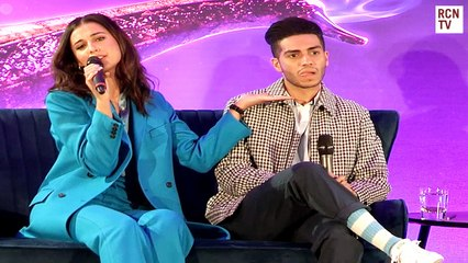 Naomi Scott & Mena Massoud On Becoming Jasmine & Aladdin
